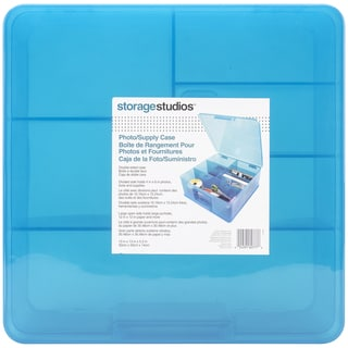 "Storage Studios Photo Supply Case-5.5""X13""X13"" Teal"