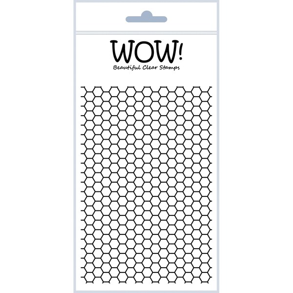 "WOW! Clear Stamp Set 4""X5.75""-Sexi-Hexi"