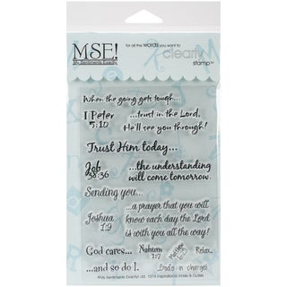 "My Sentiments Exactly Clear Stamps 4""X6"" Sheet-Inspirational"