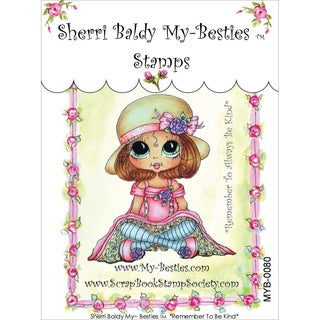 "My Besties Clear Stamps 4""X6""-Remember To Be Kind"
