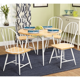 Simple Living Milo 5-piece Mixed Media Dining Set