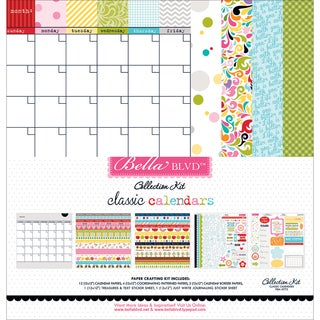 "Bella Blvd Collection Kit 12""X12""-Classic Calendars"