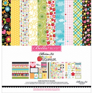 "Bella Blvd Collection Kit 12""X12""-Summer Squeeze"