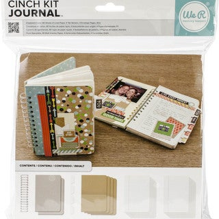 "Cinch Journal Kit 8""X9""-Covers, Pages & Wire"