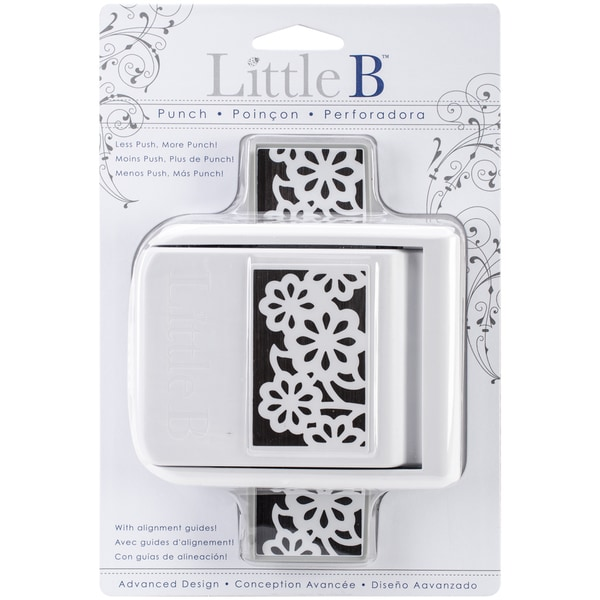 Little B Edge Punch-Daisy Floral