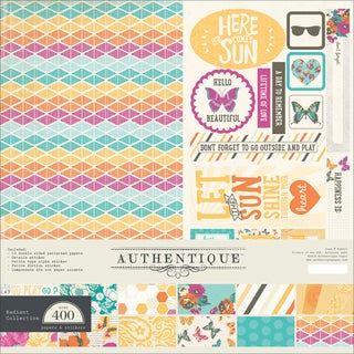 "Authentique Collection Kit 12""X12""-Radiant"