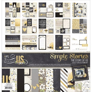 "Simple Stories Collection Kit 12""X12""-The Story Of Us"