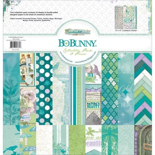 "Bo-Bunny Collection Pack 12""X12""-Enchanted Garden"