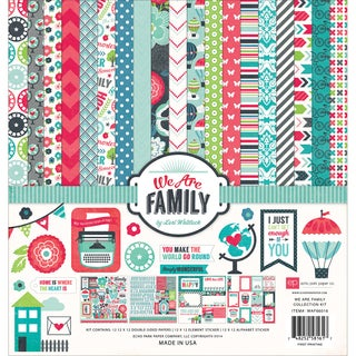 "Echo Park Collection Kit 12""X12""-We Are Family"