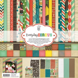 "Fancy Pants Designs Collection Kit 12""X12""-Everyday Circus"