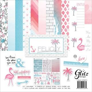 "Glitz Design Collection Kit 12""X12""-Felicity"