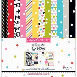 """Bella Blvd Collection Kit 12""""X12""""-Scattered Sprinkles"""