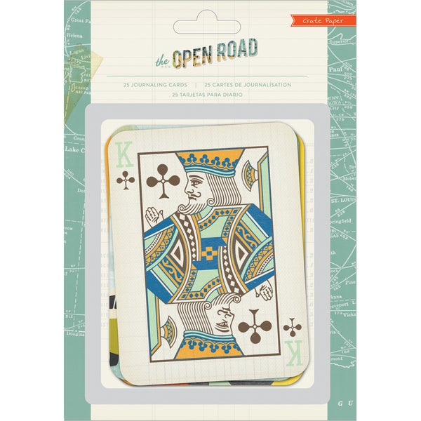 Open Road Journaling Cards 25/Pkg