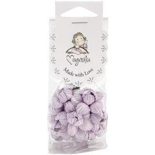 Vintage Ruffle Paper Cherry Blossoms 10/Pkg-Lilac