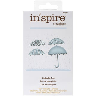 Spellbinders Shapeabilities In'spire Die-Umbrella Trio