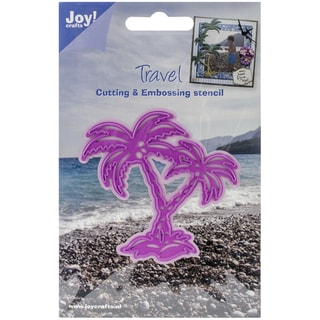 "Joy! Crafts Cut & Emboss Die-Palm Trees 3""X3"""