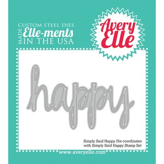 Elle-Ments Dies-Simply Said Happy