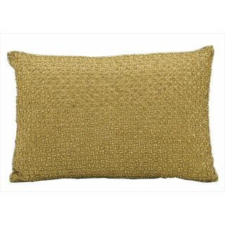 "Nourison Kathy Ireland Gold Pillow (10"" x 14"")"