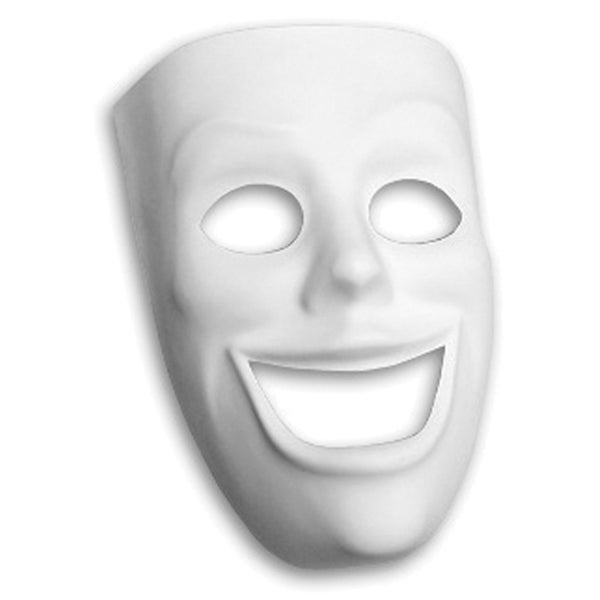 Plastic Mask-Happy Face