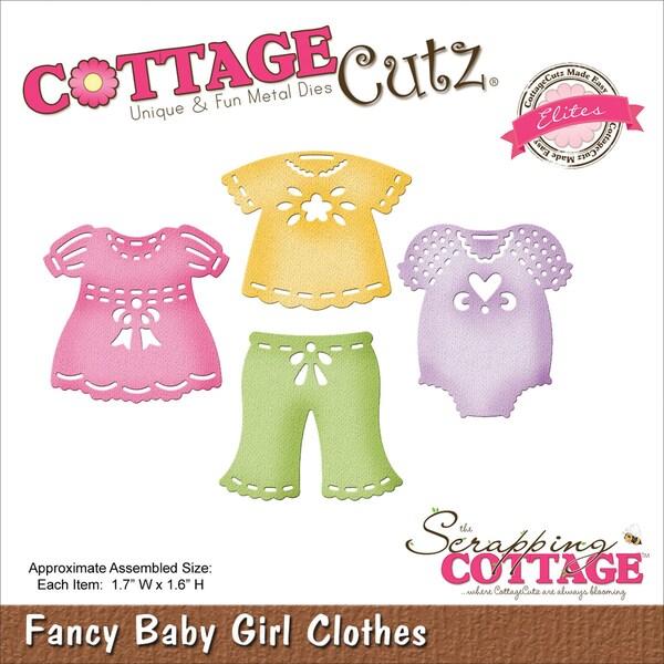 CottageCutz Elites Die-Baby Girl Clothes