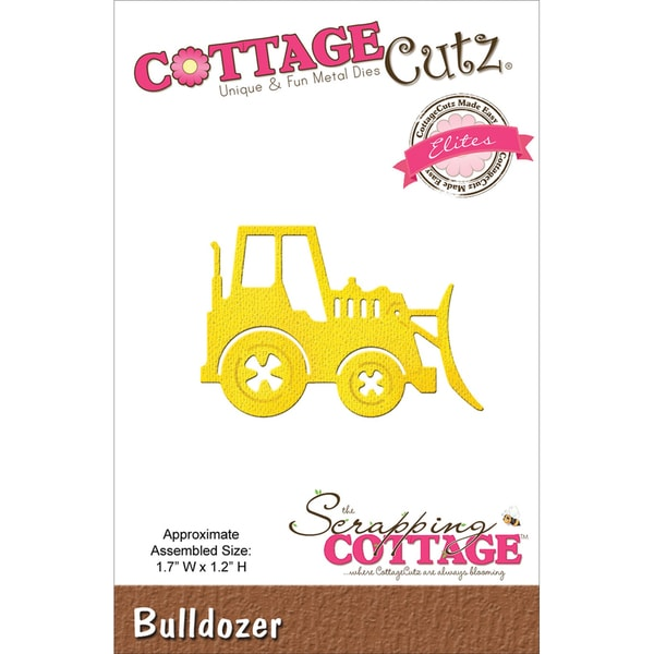 "CottageCutz Elites Die 1.7""x1.2""-Bulldozer"