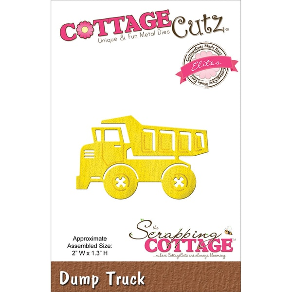 "CottageCutz Elites Die 2""X1.3""-Dump Truck"