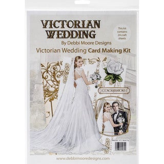 Debbi Moore Card Kit-Victorian Wedding