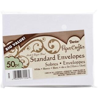 """Smooth A2 Envelopes (4.375""""X5.75"""") 50/Pkg-White"""