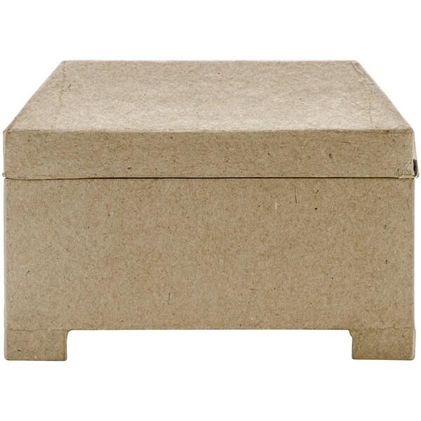 Paper-Mache Jewel Box 7X5.5in