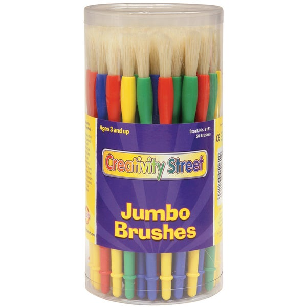 Jumbo Paint Brush Canister 58/Pkg