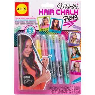 Hair Chalk Pens-Metallic