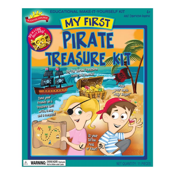 My First Pirate Treasure Kit
