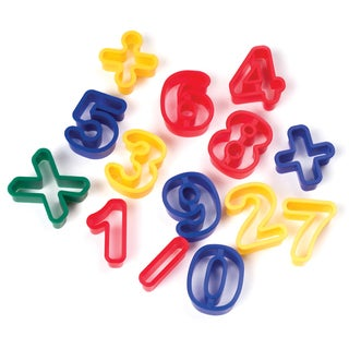 Creativity Street Dough Cutters 14/Pkg-Numbers
