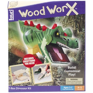 Wood WorX Kit-Dinosaur