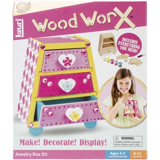 Wood WorX Kit-Jewelry Box