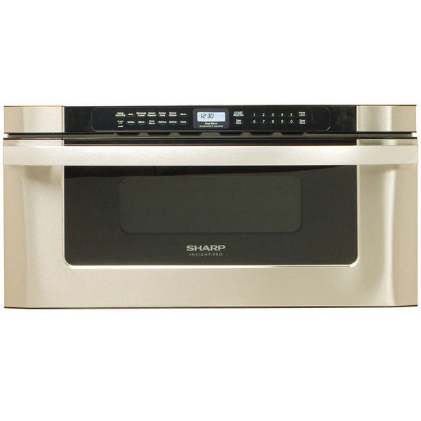 Sharp 30 stainless steel built in microwave drawer for 24 inch built in microwave stainless steel
