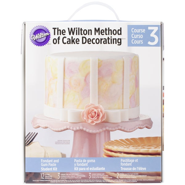 Wilton Cake Decorating Student Kit Course 2 : Student Decorating Kit-Course 3 - 16427831 - Overstock.com ...