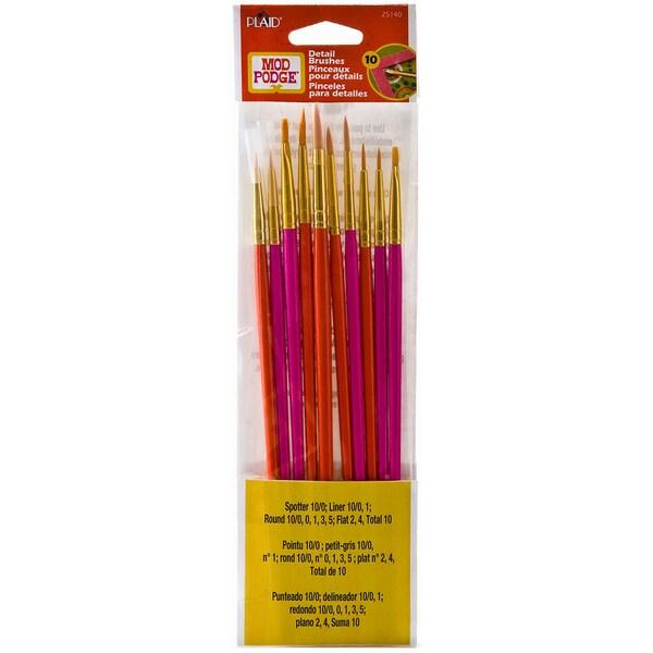 Mod Podge Brush Set 10pc 13519626
