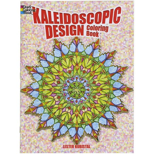 Dover Publications-Kaleidoscopic Design Coloring Book