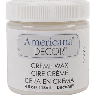 Americana Decor Creme Wax 4oz-Clear