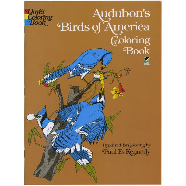 Dover Publications-Audubon's Birds Of America Coloring