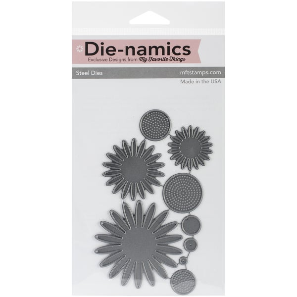 "Die-Namics Dies-Gerbera Daisy, .5""X.5"" To 2.5""X 2.5"""