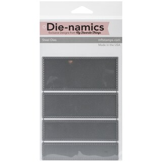 "Die-Namics Strip Dies-Horizontal Stitched, .875"" To 4"""