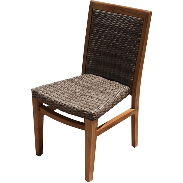 Panama Jack 'Leeward Islands' Natural Teak Side Chair