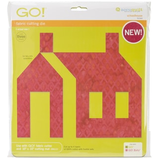 Go! Fabric Cutting Die-Schoolhouse