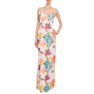 Escada Women's Romantic Floral Evening Gown Dress
