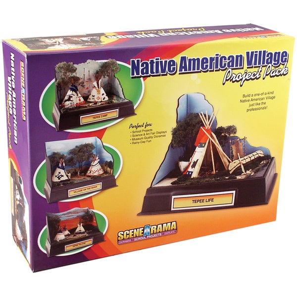 Project Pack-Native American Village