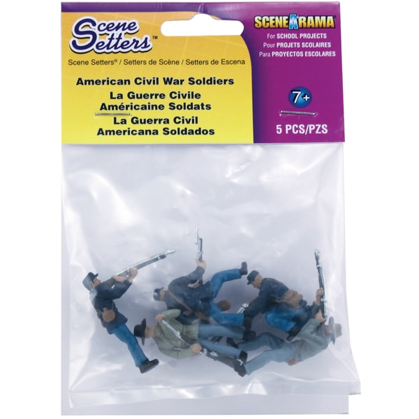 Scene Setters(R) Figurines-American Civil War Soldiers 5/Pkg