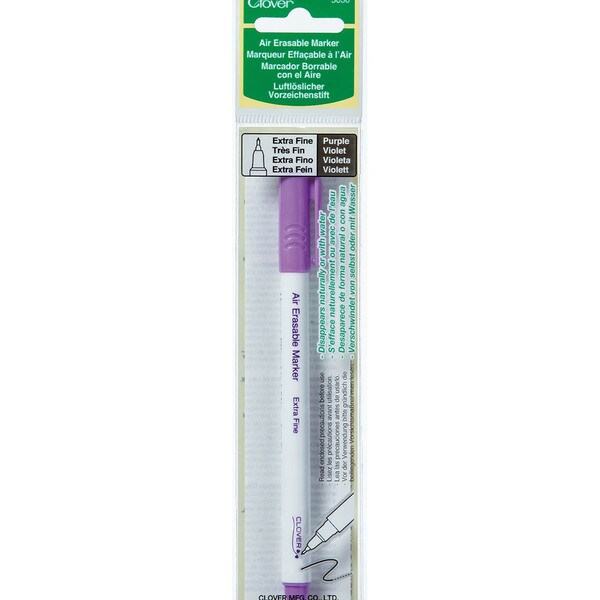 Air-Erasable Marker - Extra Fine-Purple