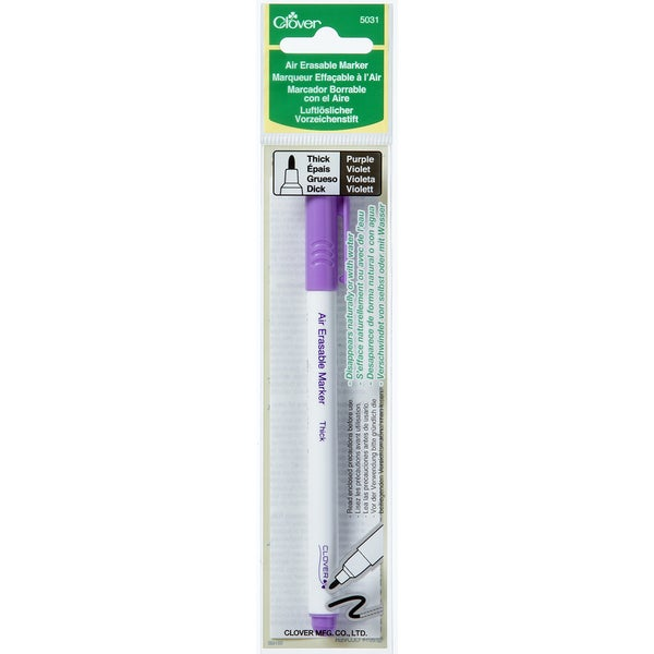 Air-Erasable Marker - Thick-Purple